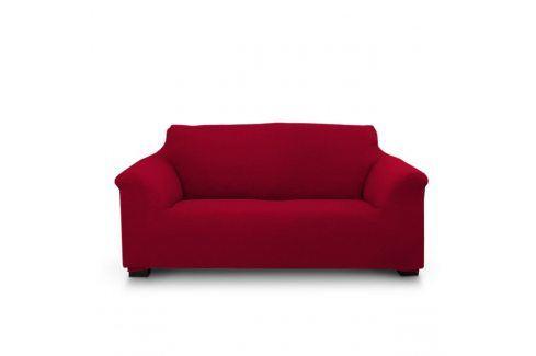 Potah na dvojkřeslo Elegant červený 130-180 červená Potahy na pohovky