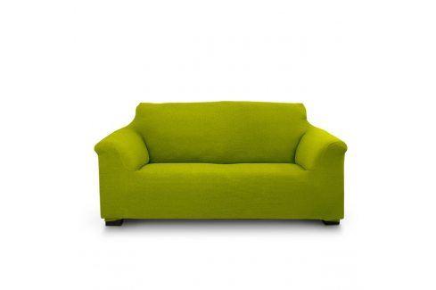 Potah na dvojkřeslo Elegant zelený 130-180 zelená Potahy na pohovky