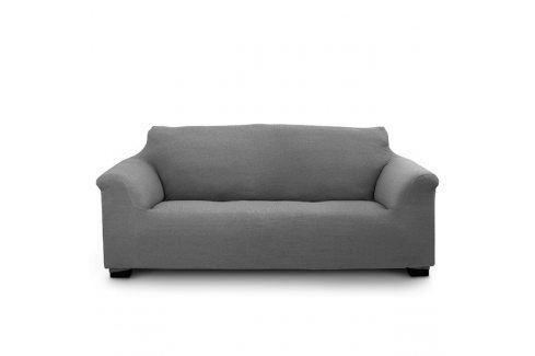 Potah na trojkřeslo Elegant šedý 180-240 šedá Potahy na sedačky