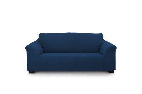 Potah na trojkřeslo Elegant modrý 180-240 modrá Potahy na sedačky