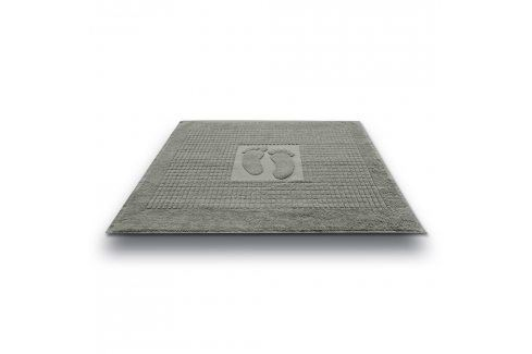 Koupelnová předložka Stopa šedá 50x70 cm bavlna Předložky