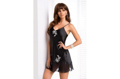 Elegantní košilka Ida  černá Luxusní košilky