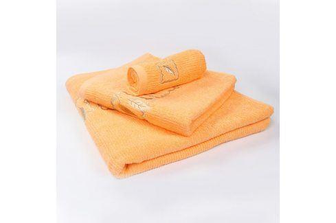 Ručník Grácie - pomerančový 30x50 cm Ručník malý Ručníky
