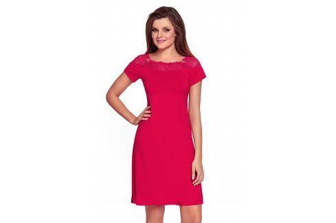 Dámská noční košilka Laurencja Ruby  červená Akce týdne