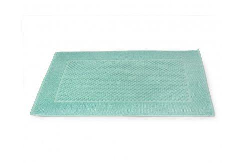 Koupelnová předložka Mozaika mátová 50x80 cm bavlna Předložky