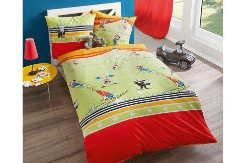 Povlečení Cirkus 140x200 jednolůžko - standard bavlna Dětské povlečení