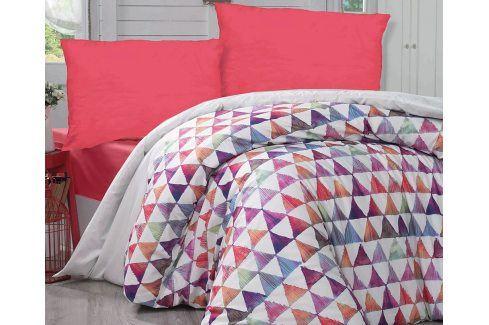 Povlečení Parveen 140x200 jednolůžko - standard bavlna Geometrické vzory