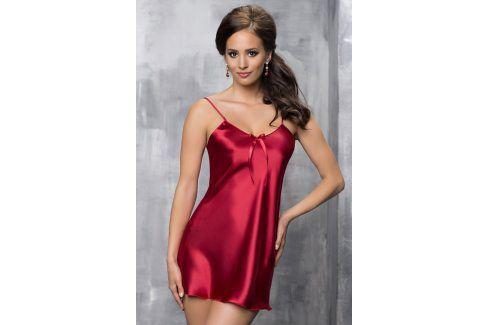 Elegantní košilka Aria Burgundy  červená Luxusní košilky