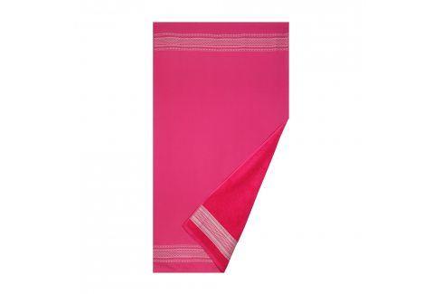Plážová osuška Deco růžová 90x160 cm růžová Plážové doplňky