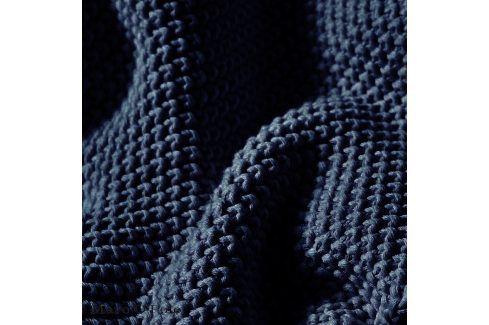 Pletený pléd Marc O´Polo Nordic Indigo 130x170 cm modrá Přehozy