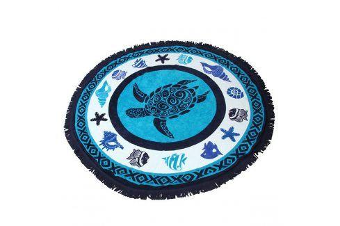 Plážová deka 2v1 Tortuga  modra Plážové doplňky