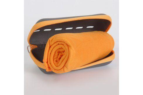 Rychleschnoucí ručníky Pocket Towel oranžové 50x100 cm Ručník Funkční ručníky a osušky