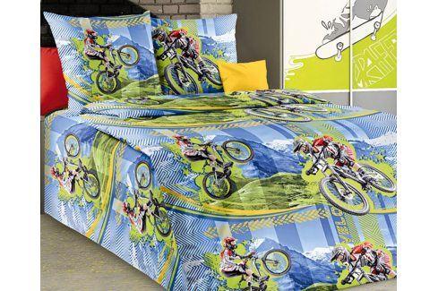 Povlečení Freeride 140x200 jednolůžko - standard bavlna Dětské povlečení