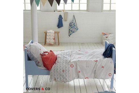 Povlečení Covers & Co Krabi 140x200 jednolůžko - standard bavlna Dětské povlečení