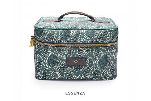 Kosmetický kufřík Essenza Home Tracy Solan zelený kosmetická taštička zelená Doplňky