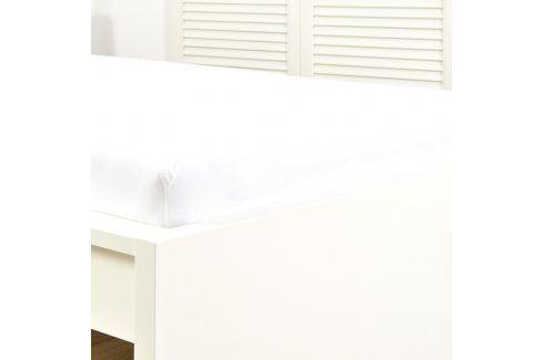 Napínací prostěradlo jersey bílé 60x120 cm dětská postýlka Bavlna - jersey Jersey prostěradla