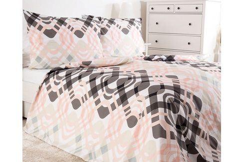 Povlečení Funny 140x200 jednolůžko - standard bavlna Geometrické vzory