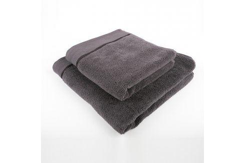 Ručník mikrobavlna antracitový Ručník Ručník Bavlněné ručníky a osušky