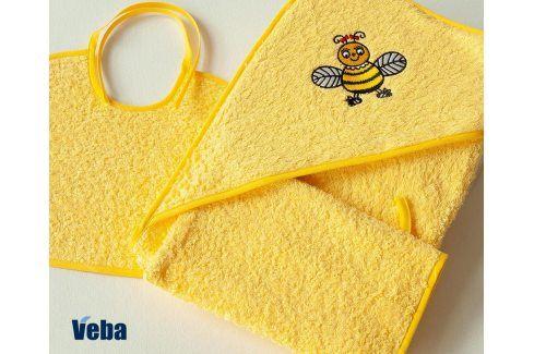Dětský set Čmelák žlutý dětský set froté Pro miminka