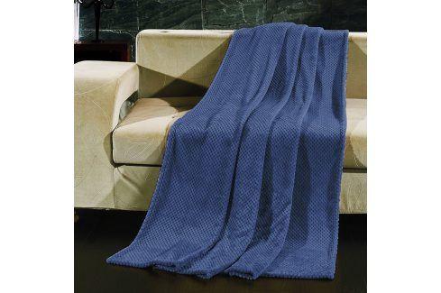 Deka Henry modrá 150x200 cm modrá Deky