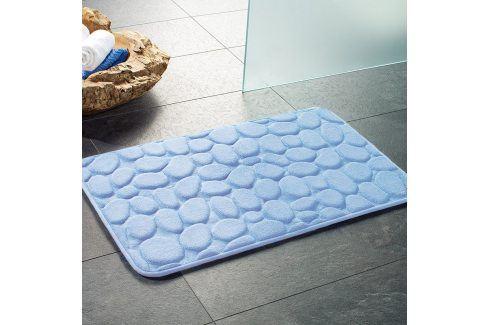 Koupelnová předložka London modrá 50x80 cm modrá Předložky