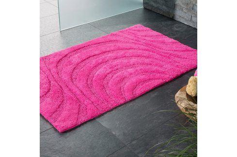 Koupelnová předložka Jaipur růžová 60x100 cm růžová Předložky