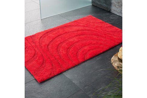 Koupelnová předložka Jaipur červená 60x100 cm červená Předložky