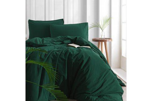 Povlečení Stonewash zelené 220x200 dvojlůžko - standard bavlna Luxusní povlečení