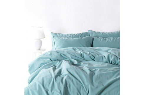Povlečení Stonewash světle modré 140x200 jednolůžko - standard bavlna Luxusní povlečení