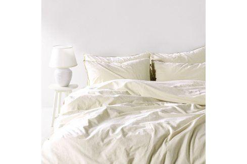 Povlečení Stonewash bílé 220x200 dvojlůžko - standard bavlna Luxusní povlečení