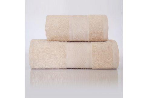Ručník Maritim béžový 70x130 cm Osuška Bavlněné ručníky a osušky