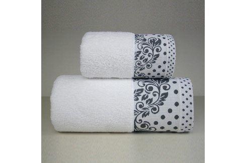 Ručník Melissa bílý 70x140 cm Osuška Bavlněné ručníky a osušky