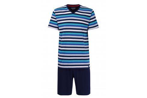 Pánské pyžamo CECEBA Aqua 5XL plus nežehlivé  vícebarevná Pánská pyžama