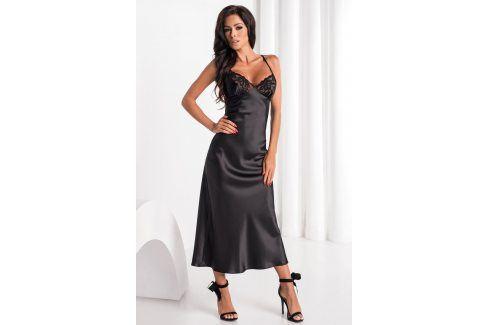 Elegantní košilka Yoko  černá Luxusní košilky