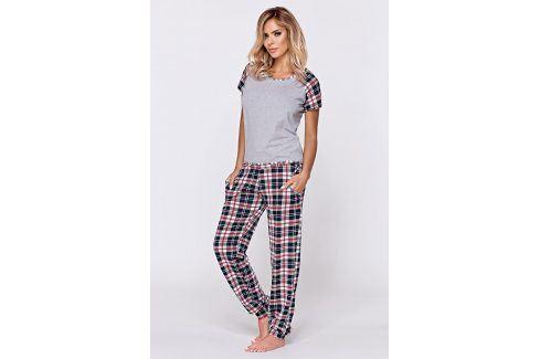 Dámské pyžamo Mira  melange Dámská pyžama
