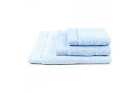 Ručník mikrobavlna světle modrý 50x100 cm Ručník Bavlněné ručníky a osušky