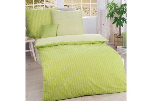 Povlečení Combo Green 140x200 jednolůžko - standard bavlna Geometrické vzory