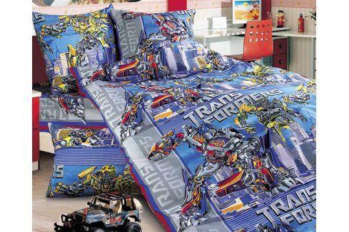 Povlečení Transformers 140x200 jednolůžko - standard bavlna Dětské povlečení