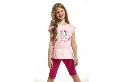 Dívčí bavlněné pyžamo Unique  růžová Dětská pyžama