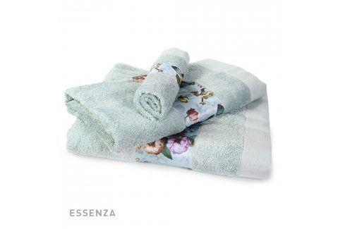 Ručník ESSENZA Fleur zelený 30x50 cm Ručník malý Osušky