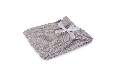 Pletená dětská deka Tully šedá 75x100 cm šedá Akce týdne