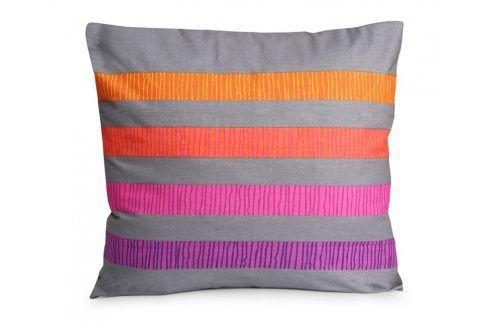 Povlak na polštářek Ella fialový 40x40 cm Bavlna Povlaky na polštáře