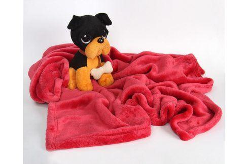 Dětská deka Bono dětská deka Bordó Pro miminka
