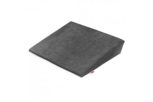 Podložka na sezení doplňky tmavě šedá Přikrývky a polštáře