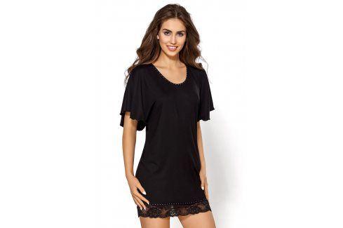 Elegantní košilka Nessy  černá Luxusní košilky