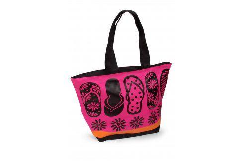 Plážová taška Acapulco Tongues  růžová Plážové doplňky