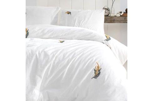 Povlečení Stonewash ručně vyšívané 220x200 dvojlůžko - standard bavlna Luxusní povlečení