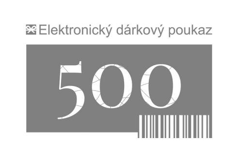Tescoma dárkový poukaz 500 Kč elektronický Dárkové poukazy