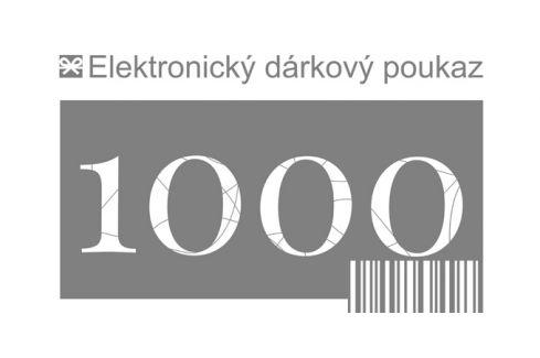 Tescoma dárkový poukaz 1000 Kč elektronický Dárkové poukazy