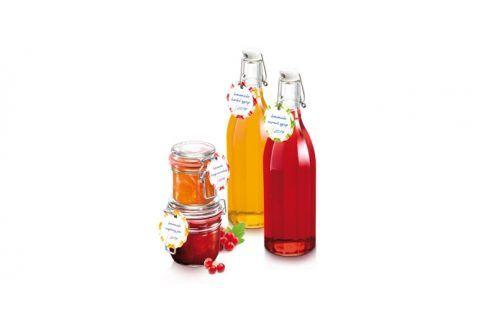 TESCOMA visačka na sklenice a láhve s klipem DELLA CASA, 24 ks Zavařování